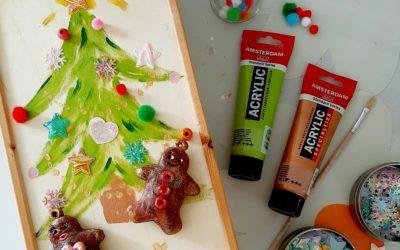 Afgelast -Kerstkistje versieren (7+)