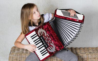 Mini accordeon voor kids – 9+