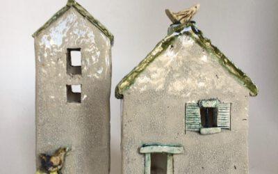 Keramiek – werken met vierkante vormen